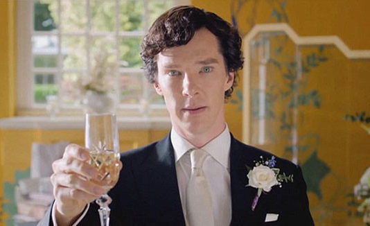 шерлок шафер на свадьбу