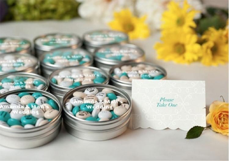 Оригинальный подарок для гостей на свадьбе 215