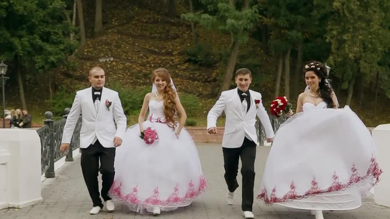 двояйная свадьба