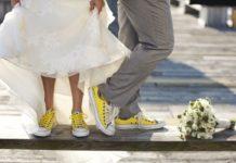 кеды для невесты